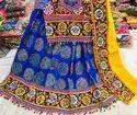 Indian Ethnic Designer Cotton Gomthi Work Garba Lehenga