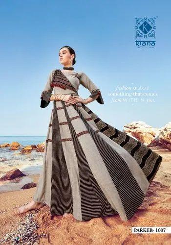 8f76751773 Kiana House of Fashion Parker Two Tone Rayon Kurti at Rs 740 /unit ...
