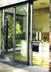Aluminum Balcony Sliding Window Door 35x75