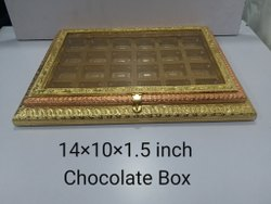 14x10x1.5 Inch Wooden Chocolate Box
