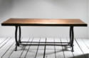 Industrial Railroad Workers Communal Dining Table