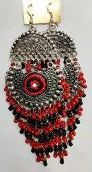 Alloy Afghan Earrings