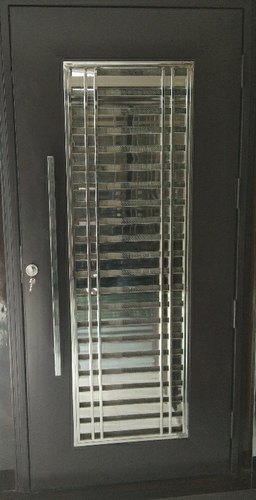 Steel Security Doors, Size: 3/7, Thickness: 16, Rs 18000 ...