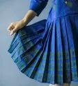 Jacket Style With Block Printed Midi Dress