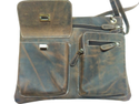 Buffalo Leather Cross Body Sling Bag