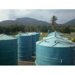 FRP Oil Storage Tanks