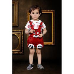 184e93194 Party Wear Round Neck Kids Dungaree, 3-6 Years, Rs 250 /piece | ID ...