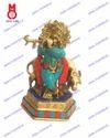 Lord Krishna Standing W Stone Statues