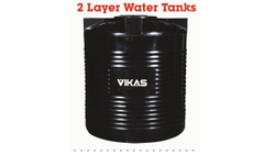 2 Layer Plastic Water Tank