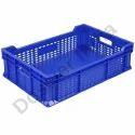 Blue Rectangular Small Crates