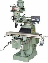 Cast Iron Pentagon MITR Type DRO Milling Machine, Model Number: 4s 4ks