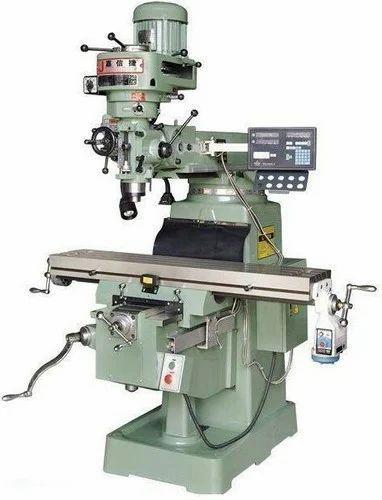Ram Turret type MITR Type DRO Milling Machine 1270x254/Iso40, Model Number: 4s