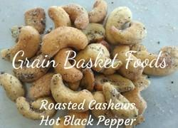 Roasted Flavored Cashew Nuts Hot Black Pepper