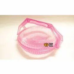Plastic Plum Cake Box