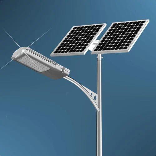 Aluminum commercial solar street light 100w panel rs 8000 unit aluminum commercial solar street light 100w panel aloadofball Image collections