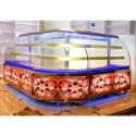Curved Bakery Display Counter