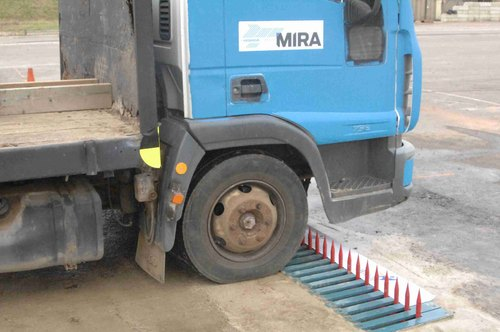 Hydraulic Tyre Killer