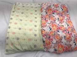 Satkaar Embroidered Flat Chiffon Prints Fabric, for Clothing, Packaging Type: Poly Bag