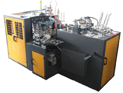 Automatic High Speed Paper Cup Making Machine, 500-1000