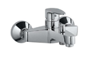 Jaguar Silver Vgp-chr-81119 Single Lever Wall Mixer With Provision For Hand Shower