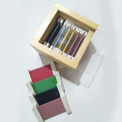Three Pairs Wooden Color Tablet