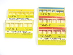 Dental Paper Points Addler 2% ( 200 Sticks Each) Sizes 15,20,25,25,30