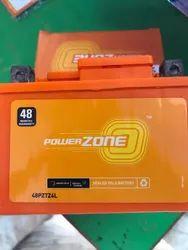Powerzone Two Wheeler Battery, 12V