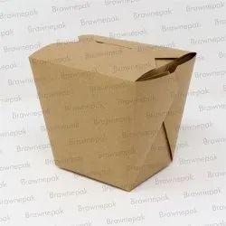 Disposable Square Food Pail