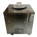Polished Stainless Steel Tandoor