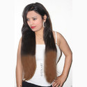 Golden Black Mix Straight Extension