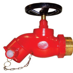 Wheel Valve Pattern Straight Flanged Hydrant Valve