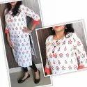 Ladies Jaipuri Printed Rayon Kurti
