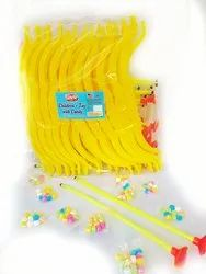 1 Year Round Bow And Arrow Toy Candy, Packaging Size: 1 Packet- 30pcs