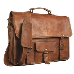 Pristino Mens Leather Office Bag
