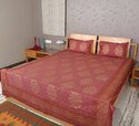 Jaipuri Bedsheet with Cushion Cover