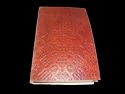Embossed Leather Writing Journal Notebook