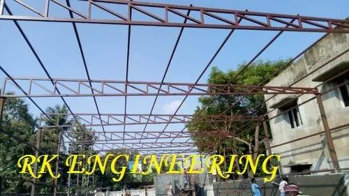 Prefabricated Industrial Shed Metal Roof Structures