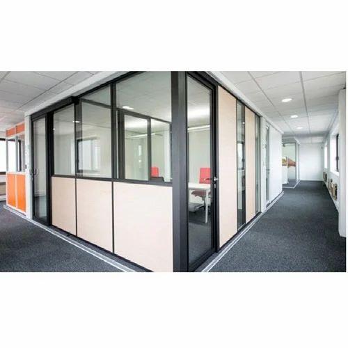 Aluminium Frame Partition, Aluminium Partition Section, Aluminum ...