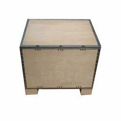 Wood Foldable Box