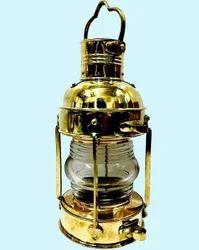 Nautical Antique Brass Ship Boat Hanging Lantern Lentern