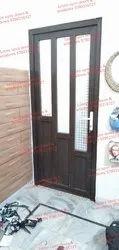 Casement Tempered Glass Upvc Designer Door, 8-12, Exterior
