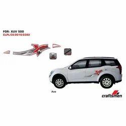 Mahindra XUV 500 Axe Car Graphic