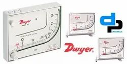 Dwyer Mark II Model 41-60MM Manometer 0-60 MM