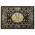 Black Marble Dining Coffee Center Table Top