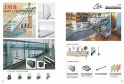 Aluminum Glass Railing Bracket
