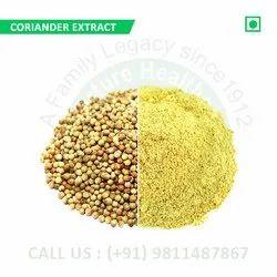 Coriander Extract (Dhania, Coriandrum Sativum, Cilantro, Kuzbara, Coriandolo, Coriandro, Koriander)