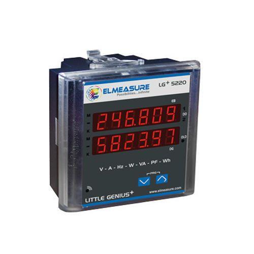 Dual Source Energy Meter 4v Elmeasure India Private