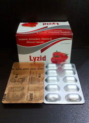Lycopene with Multivitamin,Minerals and Antioxidant Capsules
