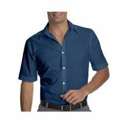 Hangerme Formal Wear Mens Formal Half Sleeves Shirt, Packaging Type: Box, Handwash
