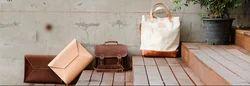 Brown Plain Women Bag